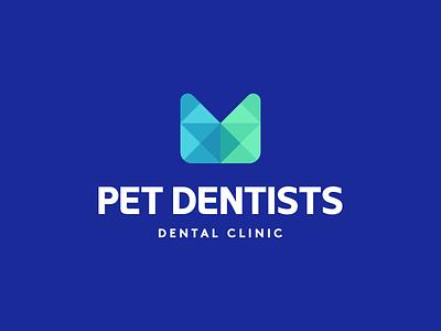 Pet Dentists Logo Design health colorful logotype logomark smart clever modern vibrant geometric logodesigner dentist clinic medicine dental startup logodesign identity branding brand logo