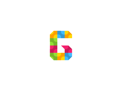 G Monogram Logo Design By Dalius Stuoka