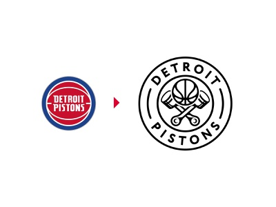 Detroit Pistons (NBA) Logo Redesign lebron lakers bball michigan pistons detroit logodesigner logodesign badge basketball sports creative icon icons identity branding logo brand nba hoops