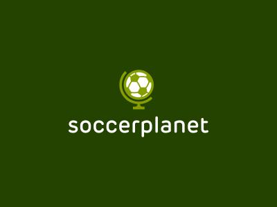 Soccer Planet Logo Design logo icon identity design mark brand football soccer ball planet