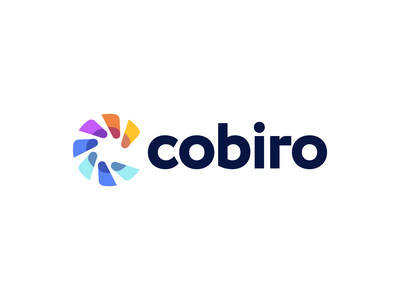 Cobiro Logo Design monogram symbol creative logomark logotype logodesign vibrant colorful modern startup app marketing identity design icons icon branding brand logo
