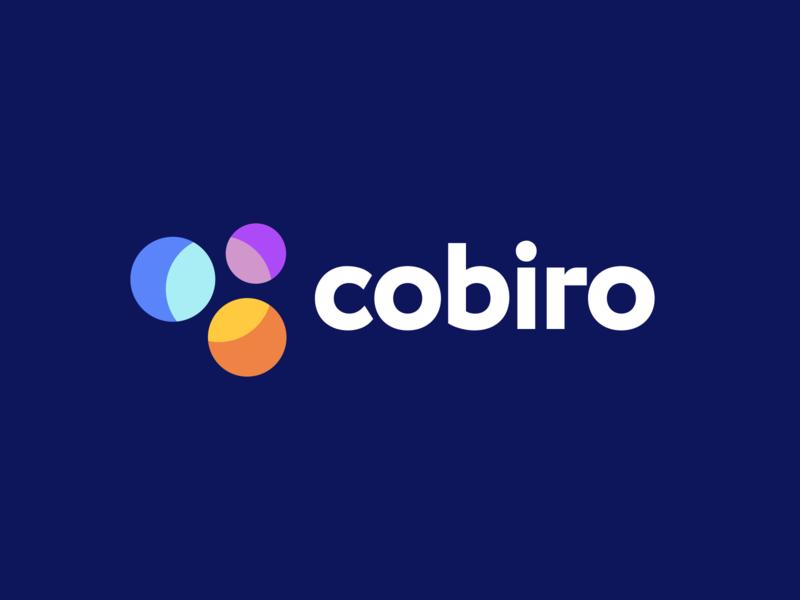 Cobiro Logo Design monogram logos logotype logodesigner logodesign saas startup app colorful creative smart clever mark design icons icon identity branding brand logo