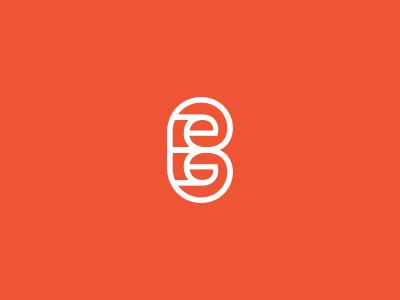 B + Paper Monogram / Logo Design