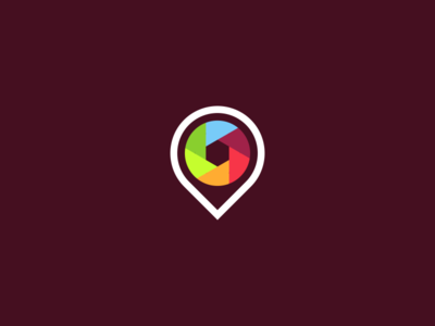 Image Bookmarking Site Logo Design