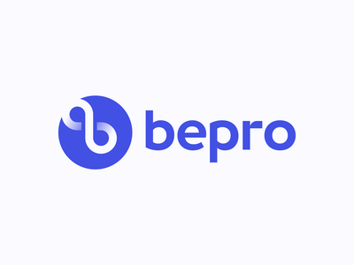 Bepro Logo Design logodesigner logodesign logotype logomark symbol cryptocurrency appicon blockchain crypto startup app business cards stationery icons mark branding brand identity design icon logo