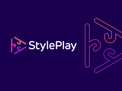 Style Play Logo Design logo design logodesign brand branding identity icon icons symbol clever app appicon startup creative play logomark logotype modern smart fashion