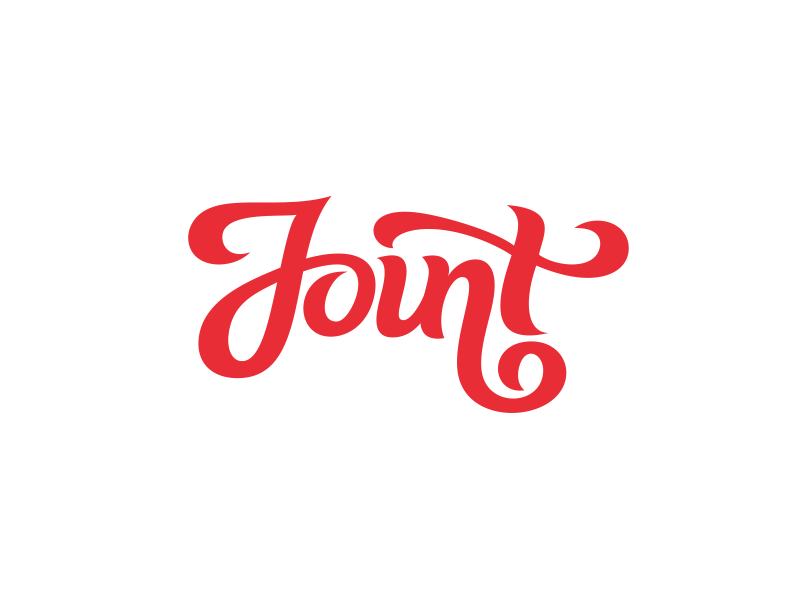Joint logo design calligraphy by dalius stuoka dribbble