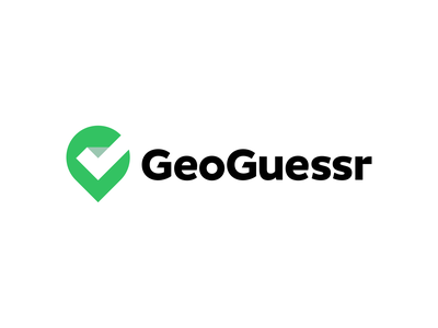 GeoGuessr Rebrand Logo Design geography maps map creative symbol negativespace logodesign gps geolocation geo pin checkmark icons branding brand identity design icon logo
