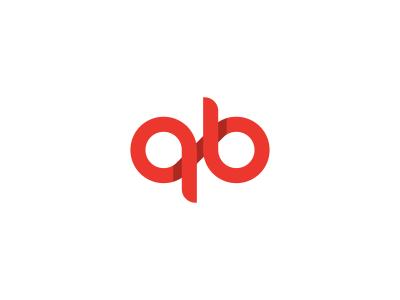 Q B Monogram Logo Design