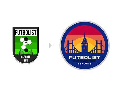Futbolist Logo Design symbol logodesign nba2k fifa fortnite valorant csgo sport gaming team esports sports icons mark branding brand identity design icon logo