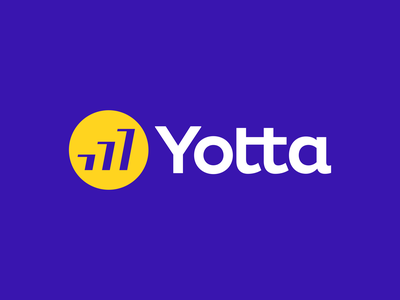 Yotta Logo Design fintech clever finance startup modern creative symbol tech software appicon app logotype logodesign mark branding brand identity design icon logo