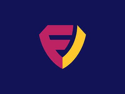 F + I + Shield Logo Design logotype software appicon logodesign monogram sports gaming esports shield symbol j u m p e d o v e r l a z y d o g t h e q u i c k b r o w n f o x icons branding brand identity design icon logo