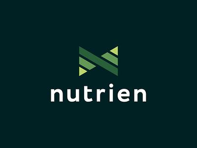 Nutrien Logo Design - N Monogram / Food Pyramids / Abstract modern abstract geometric blockchain crypto finance software tech l a z y d o g j u m p e d o v e r t h e q u i c k b r o w n f o x monogram appicon symbol logodesign branding brand design icon logo