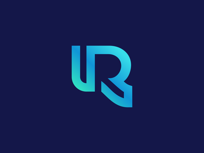 R Logo Design - Crypto / Blockchain / Cryptocurrency logotype modern letter finance app blockchain crypto l a z y d o g t h e q u i c k b r o w n f o x j u m p e d o v e r software tech creative symbol logodesign branding brand design icon logo