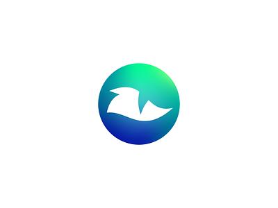 Monstor Logo Design - Eye / Godzilla / Reptile / Kaijū cryptocurrency app icon sports mascot blockchain crypto finance fintech gradient modern software tech logodesign logotype creative symbol brand design icon logo