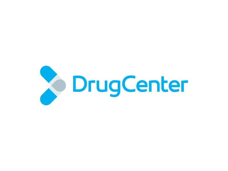 Drug Center Logo Design logo icon identity design brand branding medicine drug center pharmacy pharmaceutical pill