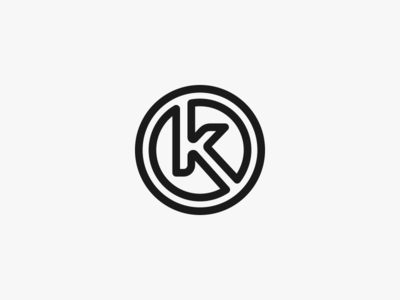 K Icon / Logo Design
