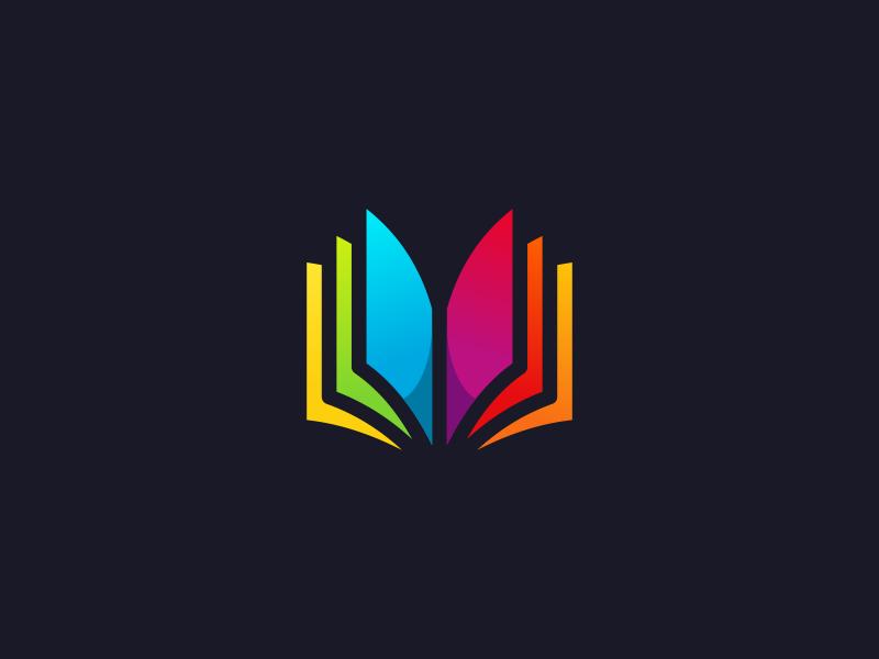 Book Logo Design By Dalius Stuoka