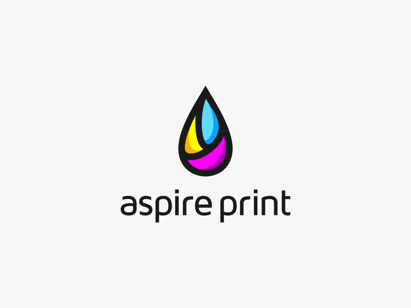 Aspire Print Logo Design By Dalius Stuoka  Dribbble. Criminal Signs Of Stroke. Medical Cause Signs. Mortal Kombat Logo. Bullet Club Logo. Wordpress Banners. Channel You Tube Banners. Dragon's Dogma Logo. Sticker And Decal Printing