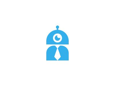 Office Robot Logo Design By Dalius Stuoka Dribbble Dribbble