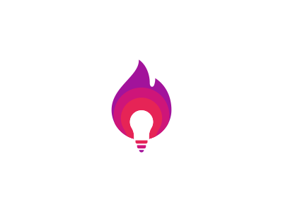 Fire Bulb Logo Design