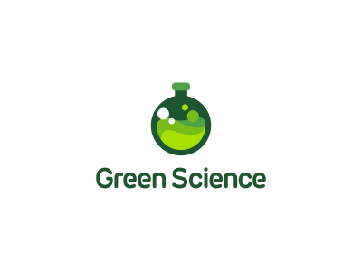Green Science Logo Design