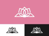 Lotus Book Logo Design