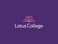 Lotus College Logo Design