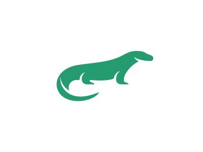 Komodo Dragon Logo Design