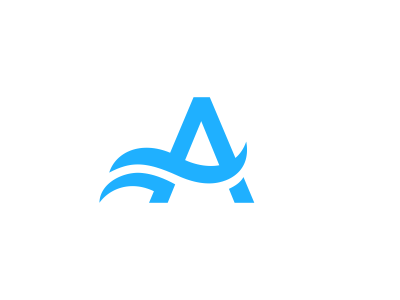 A + Waves Logo Design stationery staitonery stationary logodesing statoinery stationrey branidng brandign stationry brnading bradning barnding brnad bradn barnd loogdesign lgoodesign logo deisgn desgn deisgner dsgner deisgn logog design desgin loog lgoo lgo sea water ocean wave waves letter a branding brand logo