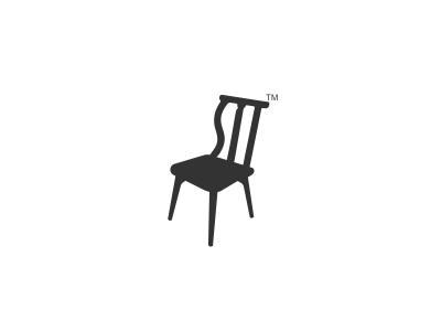 Chair Logo Design design agency freelance logo designer logo design logo designer graphic designer graphic design clever simple hidden black furniture icons concept conceptual chair sit logo mark icon