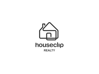 Houseclip Logo Design stationery staitonery stationary logodesing statoinery stationrey branidng brandign stationry brnading bradning barnding brnad bradn barnd loogdesign lgoodesign logo deisgn desgn logotpye deisgner dsgner deisgn logog design desgin loog lgoo lgo loogtype simple clever paperclip real estate one line property management logo clip realty