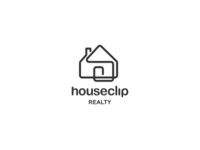 Houseclip Logo Design