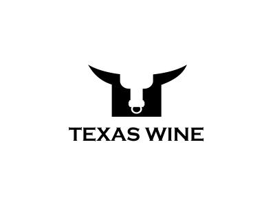 Texas Wine Logo Design genitalia design agency freelance logo designer logo design logo designer graphic design freelance designer alcohol negative space simple penis dick graphic designer texan bottle clever logo bull texas wine icon boobies negative space panties xxx