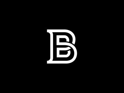 B Logo Design by Dalius Stuoka - Dribbble