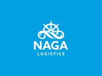 Naga Logistics Logo Design