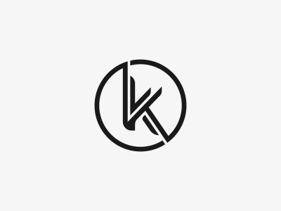 K Logo Mark Design By Dalius Stuoka Dribbble