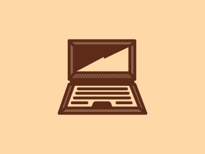 Computer logo icon icons design brown computer laptop designer graphic logo designer design agency logo design graphic designer graphic design