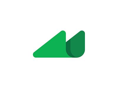 M Logo Design By Dalius Stuoka