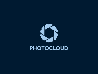 Photocloud Logo Design stationary logodesing statoinery stationrey blue sky cloud branidng brandign stationry brnading bradning barnding brnad bradn barnd loogdesign lgoodesign logo deisgn desgn logotpye deisgner dsgner deisgn logog design desgin loog lgoo lgo loogtype icon icons mark clever logo photo diaphragm shutter picture app graphic
