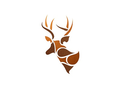 Deer Logo Design logo designer logo design graphic design freelancer logo icon icons design mark deer animal antlers parts share design agency graphic designer