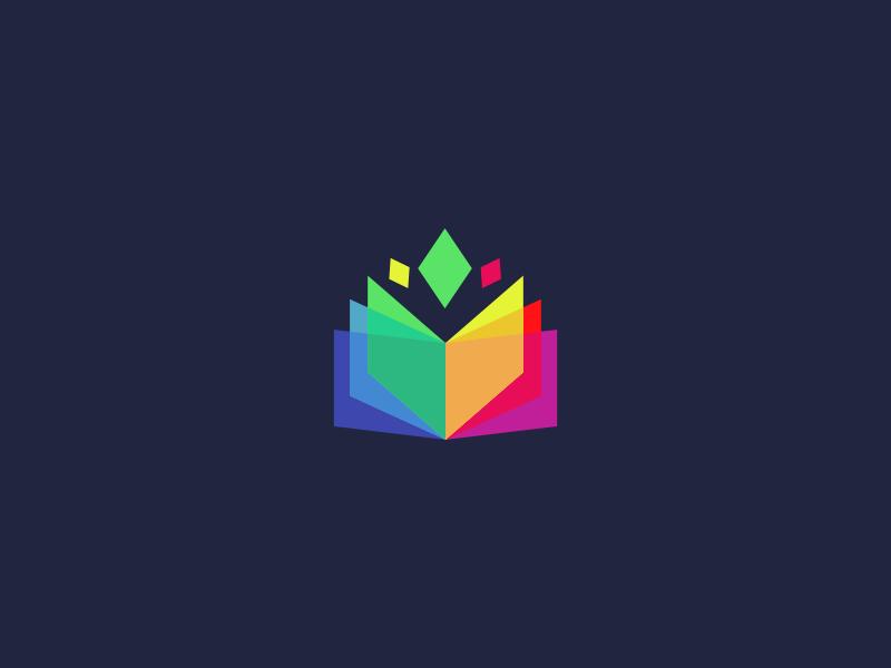 Remote Design Jobs >> Book / Education Logo Design by Dalius Stuoka - Dribbble
