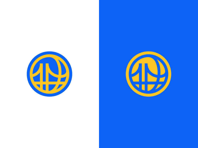 Golden State Warriors Logo Design bridge team golden state warriors nba sports basketball branding brand design identity icon logo