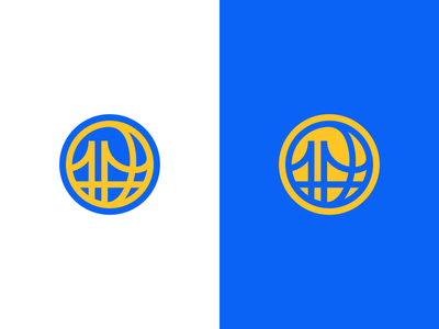 Golden State Warriors Logo Design gaming esports esport bridge team golden state warriors nba sports basketball branding brand design identity icon logo