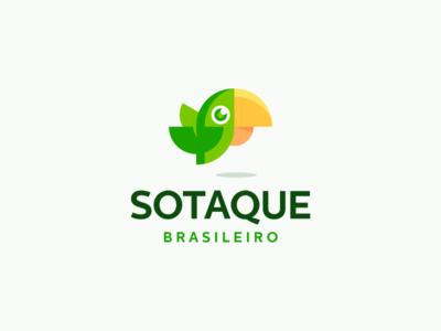 Sotaque Brasileiro Logo Design