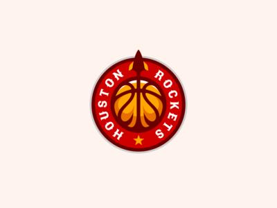 Houston Rockets Logo Design