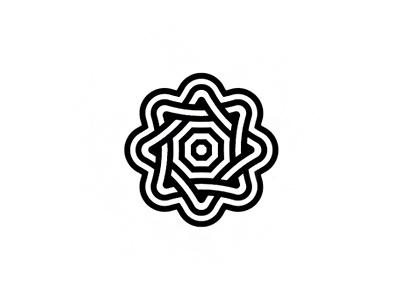 Flower pattern nature petal flower branding brand design identity icon logo