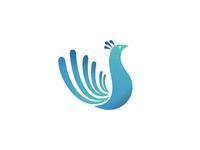 Peacock Logo Design