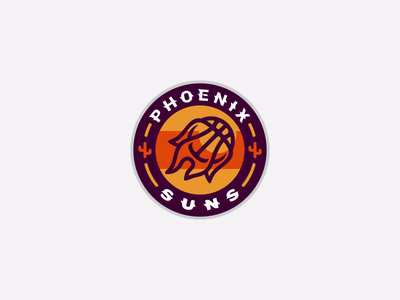 Phoenix Suns Logo Design gaming esportslogo sports arizona cactus flames flame ball suns phoenix suns phoenix basketball nba mark branding brand identity design icon logo