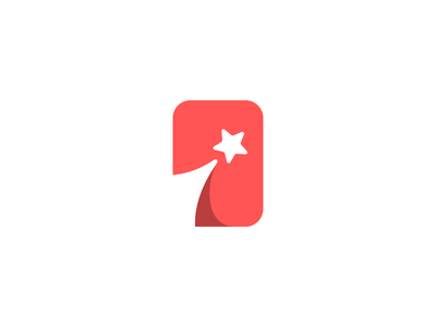 Shooting Star Phone Logo Design illustration logo designer icons clever smart negative space phone case phone mobile star ui mark branding brand identity design icon logo